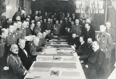 брест-литовский, договор, иоффе, мир, украина, германия, вермахт, ленин, гофман, эйхгорн, троцкий