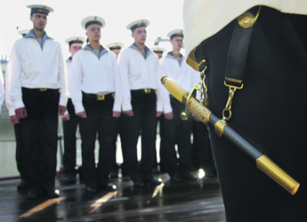 россия, флот, форма, холодное оружие, кортики, ношение