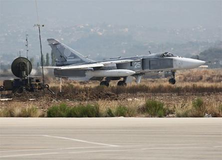 ВКСРФ жестоко  бомбят позиции ИГИЛ, невзирая  нааномальную погоду