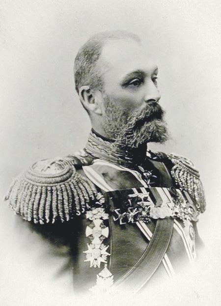 Начальник Главного артиллерийского управления Дмитрий Кузьмин-Караваев. Фото начала ХХ века