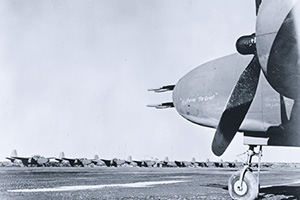 Через аэродром Ноум на Аляске на советско-германский фронт ушла не одна сотня бомбардировщиков А-20 «Бостон». Фото Библиотеки Конгресса США