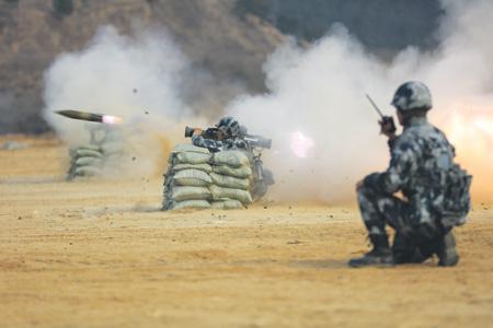 Подразделения Сухопутных войск НОАК располагают современными противотанковыми средствами. Фото с официального сайта НОАК