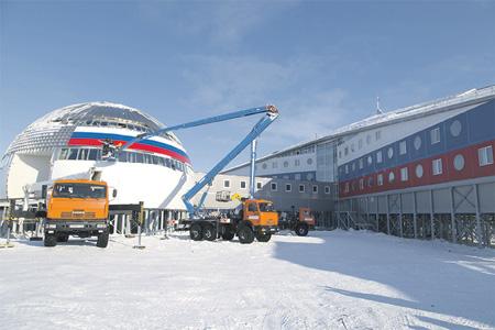 Москва активно развивает военную инфраструктуру в Арктическом регионе. Фото с официального сайта Министерства обороны РФ