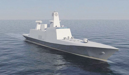 Головной фрегат проекта 17А для ВМС Индии был заложен 28 декабря прошлого года. Иллюстрация с сайта www.grse.gov.in