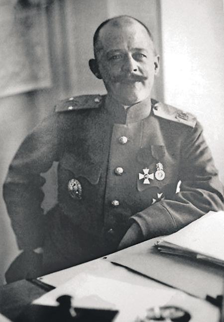 Начальник штаба 2-й Финляндской стрелковой бригады полковник Владимир Владимирович Марушевский.