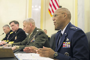 Генерал Ларри Спенсер считает, что при недостаточном уровне финансирования закупок вооружений американские ВВС могут потерять свое технологическое превосходство. Фото с сайта www.nellis.af.mil