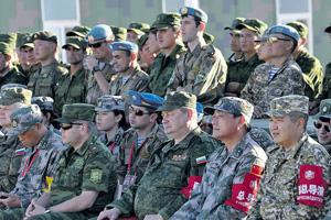 Российско-китайские военные учения становятся все менее масштабными и более формализованными. Фото с официального сайта Министерства обороны РФ