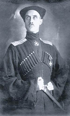 Барон Петр Врангель. Фото 1920 года