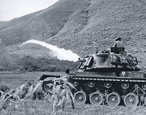 Боевая мощь всегда была главным аргументом в американской внешней политике. Вьетнам, 1969 год. Фото с сайта www.history.army.mil