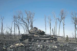 """Если бы не котел под Дебальцевом, """"нормандский квартет"""" не стал бы вмешиваться в кровавые события на востоке Украины.    Фото Reuters"""