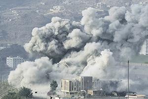 Авиация Саудовской Аравии и ее союзников продолжает наносить мощные удары по территории Йемена. Фото Reuters