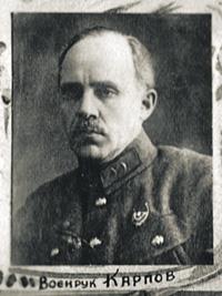 Первым руководителем военной подготовки студентов ВГУ стал комриг Карпов.