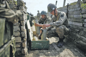 По боевой и морально-психологической подготовке войска Армении и Нагорного Карабаха на голову превосходят своих визави. Фото Reuters