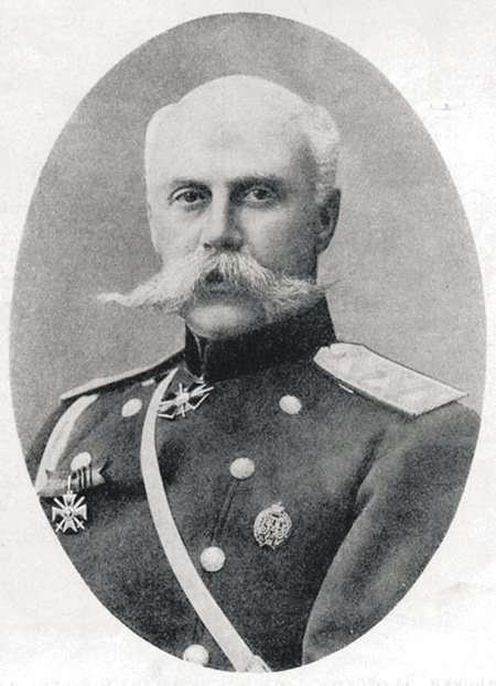 Командир 22-го армейского корпуса генерал от инфантерии Александр Фридрихович Бринкен. Фото начала ХХ века