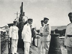 Уйдя из Крыма, русский флот на долгие годы оказался заперт в Бизерте. Фото 1921 года