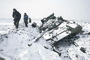 Дебальцевский котел стал самой горячей точкой Донбасса. Фото Reuters