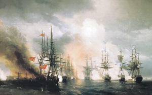 Синопский бой. 1853 год