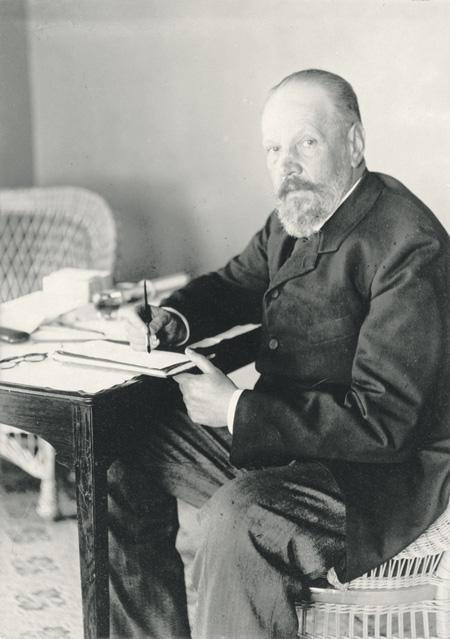 Сергей Юльевич Витте. Фото Библиотеки Конгресса США. 1905 г.