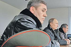 Учения разворачиваются по замыслу верховного командования. Фото  с официального сайта Министерства обороны РФ