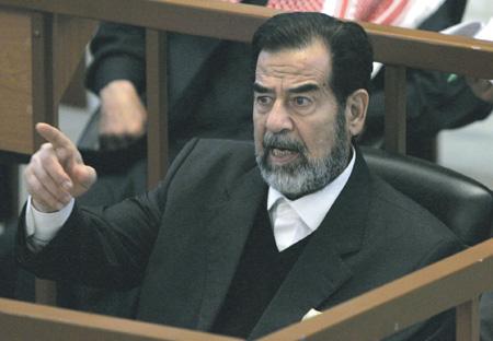 Саддам Хусейн не признал правомочность суда, вынесшего ему смертный приговор. Фото Reuters