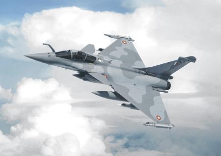 """Французский истребитель """"Рафаль-EQ"""" в окраске ВВС Катара. Фото с сайта www.dassault-aviation.com"""