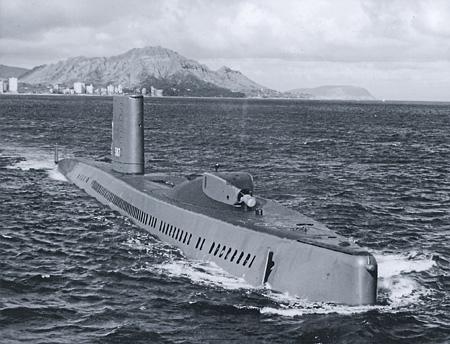 Американская подлодка «Хэлибат» стала известна в основном благодаря участию в спецоперациях против советского флота. Фото с сайта www.navsource.org