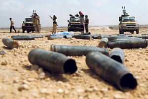 От слов до гражданской войны всего один выстрел.  Фото Reuters