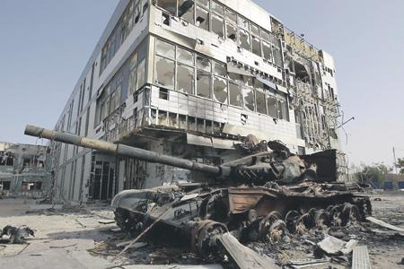 Поражение ливийской армии в информационной среде быстро привело к поражению и на поле боя. Фото Reuters