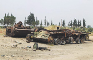 Сирия. Возможно, через это поле Катар планировал протянуть свой газопровод. Фото Reuters