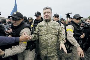 Президент Украины предпочитает охрану из бойцов частных военных компаний. Фото Reuters