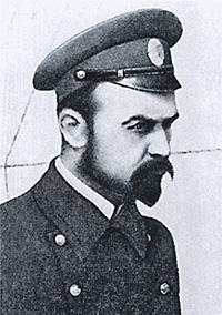 Контр-адмирал Алексей Щастный.Фото 1917 года