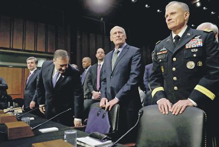 В докладе директора Национальной разведки США перед Конгрессом Россия упомянута 67 раз. Фото Reuters