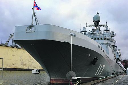 россия, флот, вооружения, бдк, проект 11711, петр моргунов