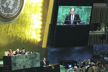 Мальтийский орден, ООН, 72-я сессия, Соцкомитет, Лавров, миротворцы, Нобелевская премия