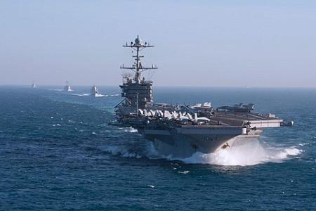 США, Россия, Сирия, холодная война, ВМС, 2-й флот, авианосец, Гарри Трумэн