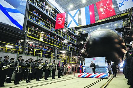 россия, флот, подводная лодка, проект 636, варшавянка, магадан