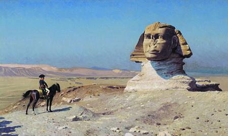 Наполеон Бонапарт, Бертье, маршалы, генералы, Египет, 1799, Мюрат
